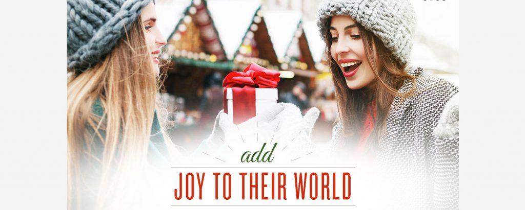 Add Joy to Their World